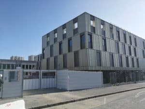 Entrée du Lycée Feyder d'Epinay-Sur-Seine