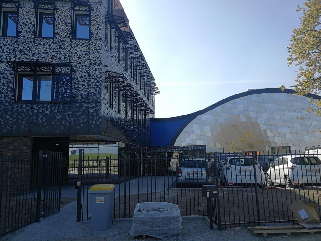Vue d'ensemble des nouveaux bâtiments de Vives Eaux