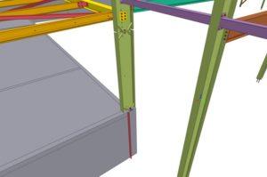 Illustration TEKLA structure