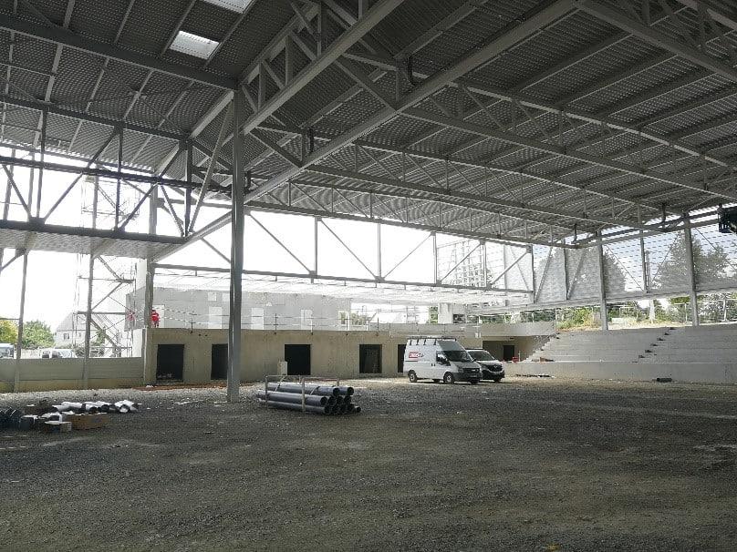 Vue d'ensemble du complexe sportif de Noyal-sur-Vilaine